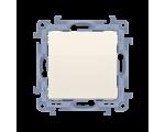 Łącznik jednobiegunowy kremowy 10AX CW1.01/41