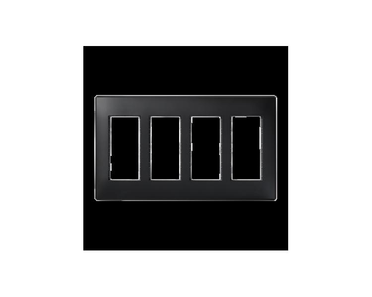 Ramka obudowy SIMON 500 4×S500 8×K45 szary grafit 51010104-038