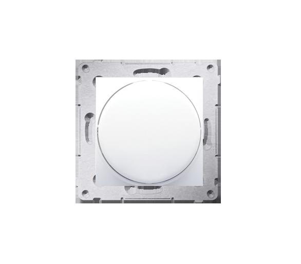 Ściemniacz do LED ściemnialnych, naciskowo-obrotowy, jednobiegunowy biały W układzie schodowym:Tak DS9L.01/11