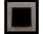 Ramka 1-krotna betonowa Szorstka przyjaźń DRN1/97