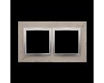 Ramka 2-krotna betonowa Butti cementi DRN2/92