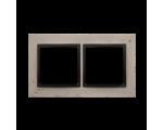 Ramka 2-krotna betonowa Funda mente DRN2/93