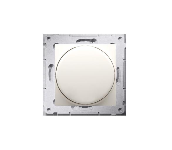 Ściemniacz do LED ściemnialnych, naciskowo-obrotowy, jednobiegunowy kremowy W układzie schodowym:Tak DS9L.01/41