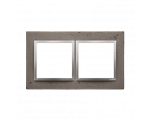 Ramka 2-krotna betonowa Mokra robota DRN2/96