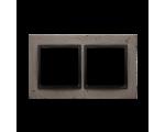 Ramka 2-krotna betonowa Szorstka przyjaźń DRN2/97