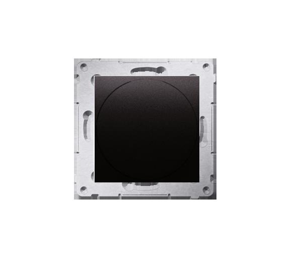 Ściemniacz do LED ściemnialnych, naciskowo-obrotowy, jednobiegunowy antracyt, metalizowany W układzie schodowym:Tak DS9L.01/48