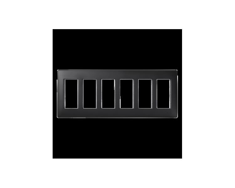 Ramka obudowy SIMON 500 6×S500 12×K45 szary grafit 51010106-038