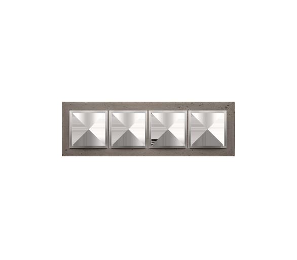 Ramka 4-krotna betonowa Mokra robota DRN4/96