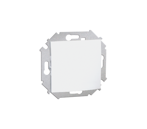Łącznik jednobiegunowy (moduł) 16AX 250V, zaciski śrubowe, biały 1591101-030
