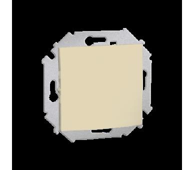 Łącznik jednobiegunowy (moduł) 16AX 250V, zaciski śrubowe, beżowy