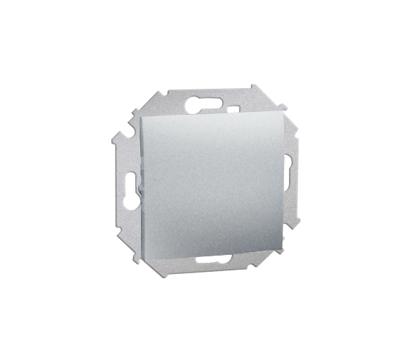 Łącznik jednobiegunowy (moduł) 16AX 250V, zaciski śrubowe, aluminiowy, metalizowany 1591101-026