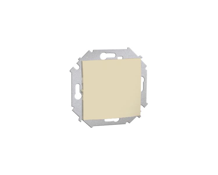Łącznik jednobiegunowy (moduł) 16AX 250V, zaciski śrubowe, beżowy 1591101B-031