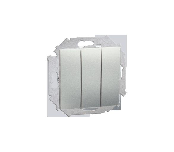 Łącznik trójobwodowy (moduł) 10AX 250V, zaciski śrubowe, aluminiowy, metalizowany 1591391-026