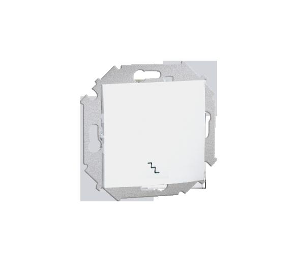 Łącznik schodowy (moduł) 16AX 250V, zaciski śrubowe, biały