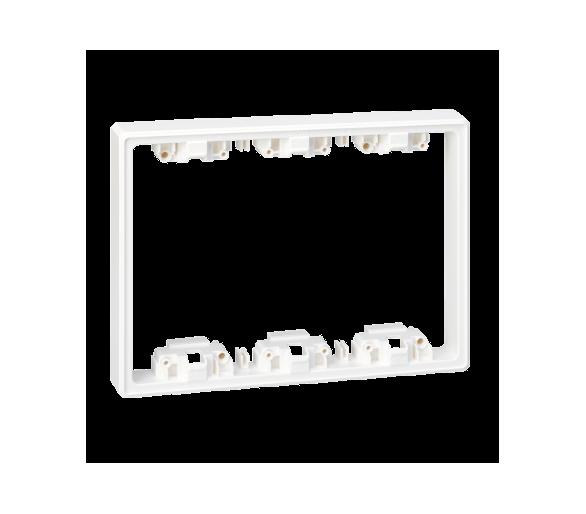 Element pogłębiający SIMON 500 3×S500 6×K45 czysta biel 51030903-030