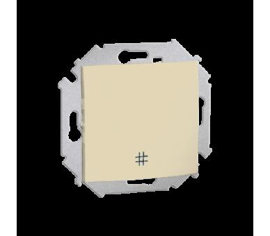Łącznik krzyżowy (moduł) 16AX 250V, zaciski śrubowe, beżowy 1591251-031