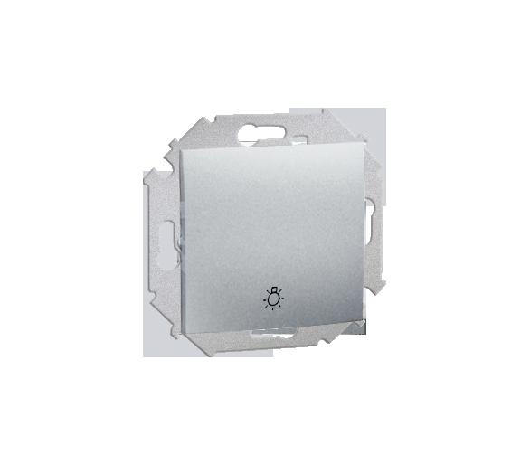 """Przycisk """"światło"""" (moduł) 16AX 250V, zaciski śrubowe, aluminiowy, metalizowany 1591651-026"""