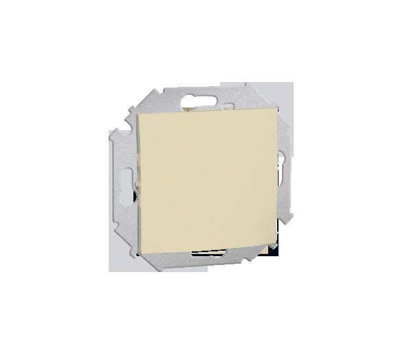 Przycisk pojedynczy zwierny bez piktogramu (moduł) 16AX 250V, zaciski śrubowe, beżowy 1591150-031
