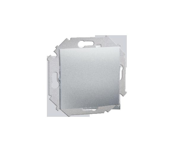 Przycisk pojedynczy zwierny bez piktogramu (moduł) 16AX 250V, zaciski śrubowe, aluminiowy, metalizowany 1591150-026