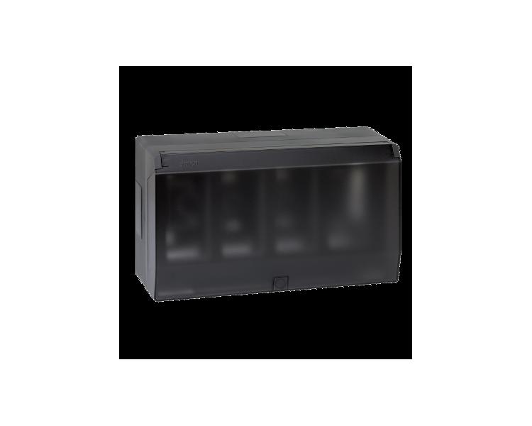 Obudowa natynkowa z pokrywą SIMON 500 4×S500 8×K45 szary grafit 51040004-038
