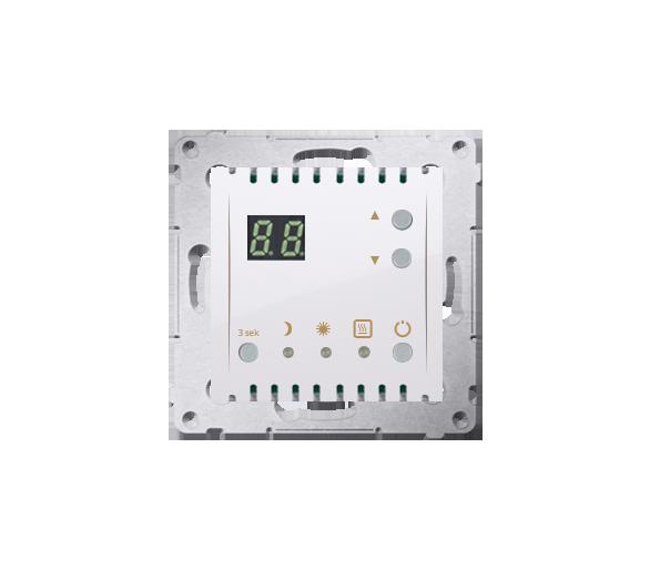 Regulator temperatury z wyświetlaczem (czujnik wewnętrzny) biały DTRNW.01/11