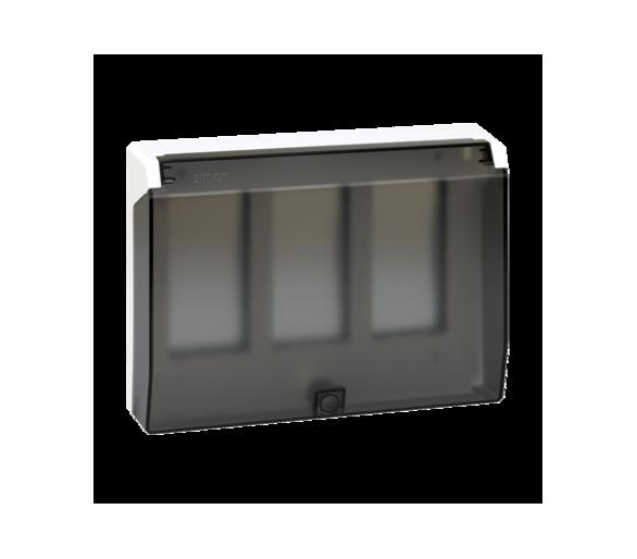 Ramka obudowy z pokrywą SIMON 500 3×S500 6×K45 czysta biel 51040103-030
