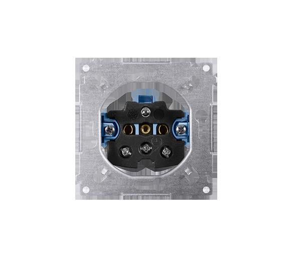 Gniazdo wtyczkowe pojedyncze z uziemieniem (mechanizm) 46A 250V, SGZ1M