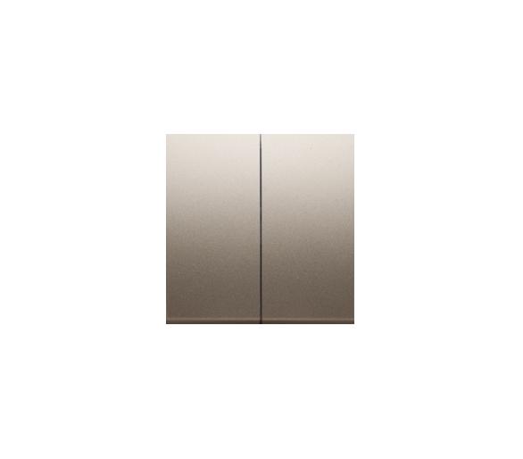 Klawisz podwójny do łączników i przycisków złoty mat, metalizowany DKW5/44