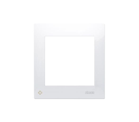 Ramka 1- krotna do puszek karton-gips antybakteryjny biały DRK1/AB11