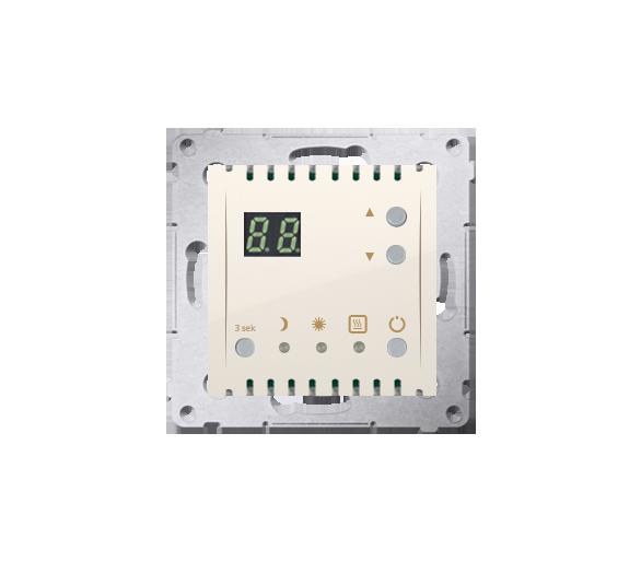 Regulator temperatury z wyświetlaczem (czujnik wewnętrzny) kremowy
