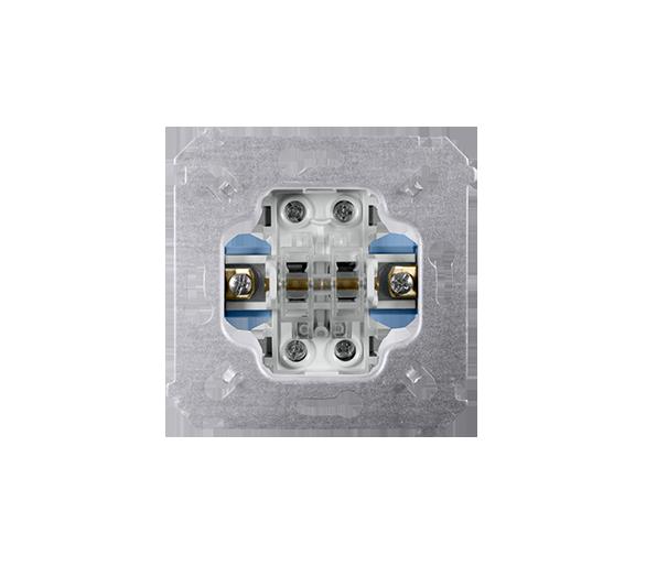 Łącznik schodowy podwójny (mechanizm) 10AX 250V, zaciski śrubowe, SW6/2M