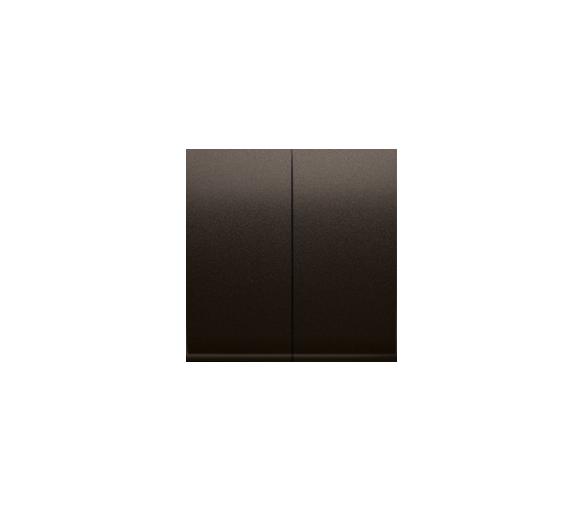 Klawisze do łącznika podwójnego schodowego SW6/2M brąz mat, metalizowany