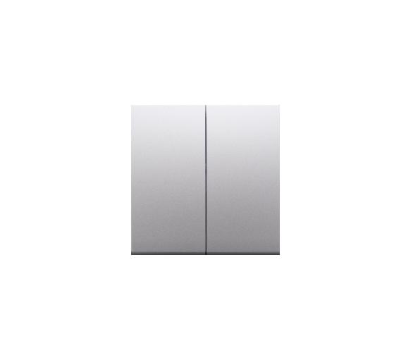 Klawisze do mechanizmów: SW7/2XM, SW6P1M srebrny mat, metalizowany DKW9/43