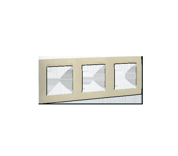Ramka 3- krotna beżowy 1501630-031