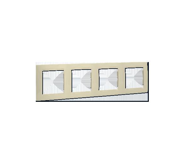 Ramka 4- krotna beżowy 1501640-031