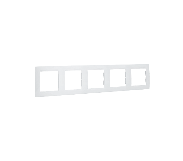 Ramka 5- krotna biały 1501650-030