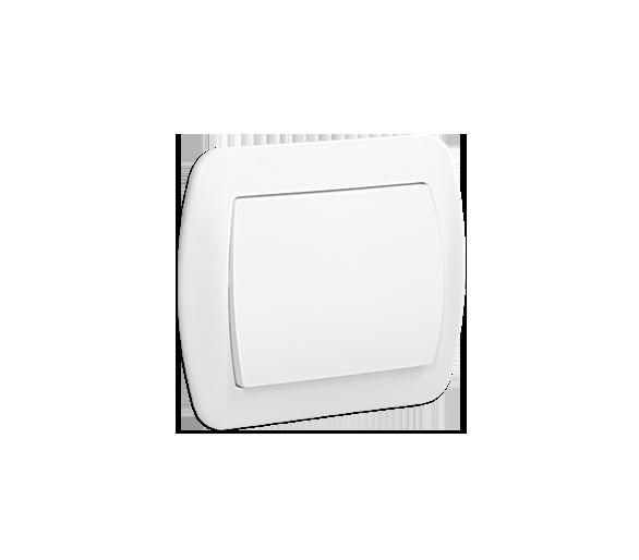 Łącznik jednobiegunowy biały 10AX
