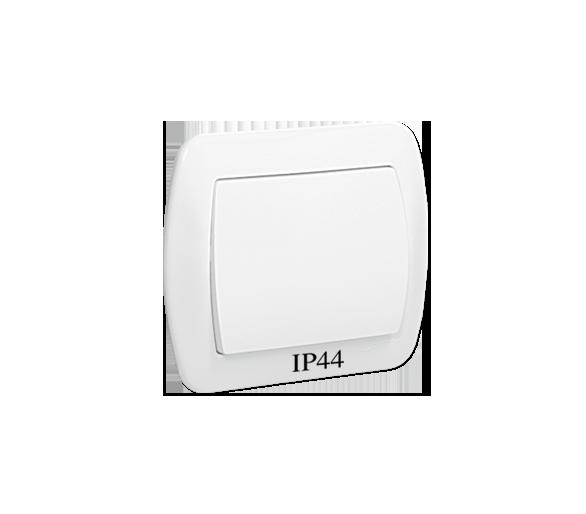 Łącznik jednobiegunowy bryzgoszczelny biały 10AX AW1B/11