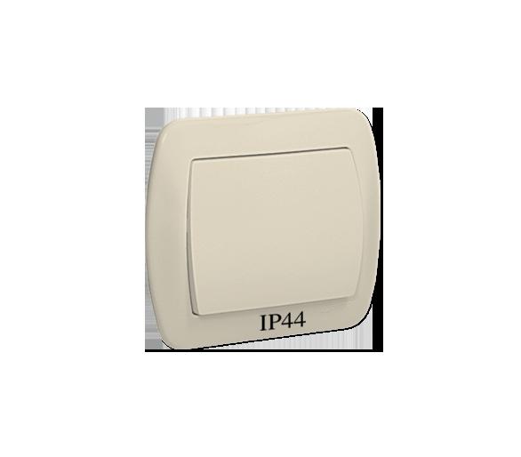 Łącznik jednobiegunowy bryzgoszczelny beżowy 10AX AW1B/12