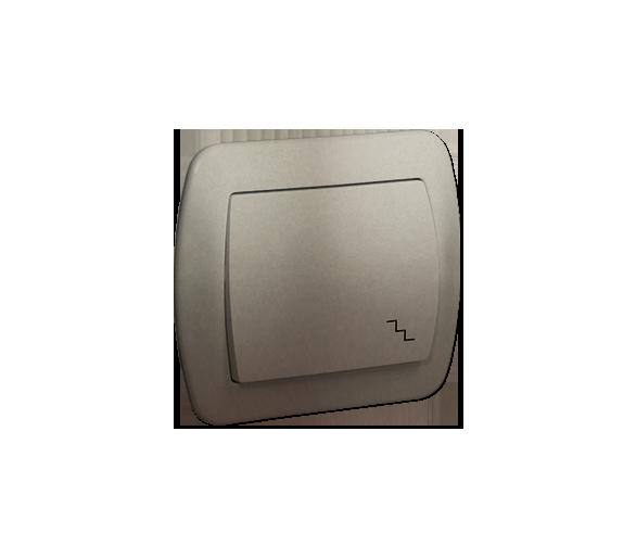 Łącznik schodowy satynowy, metalizowany 10AX AW6/29