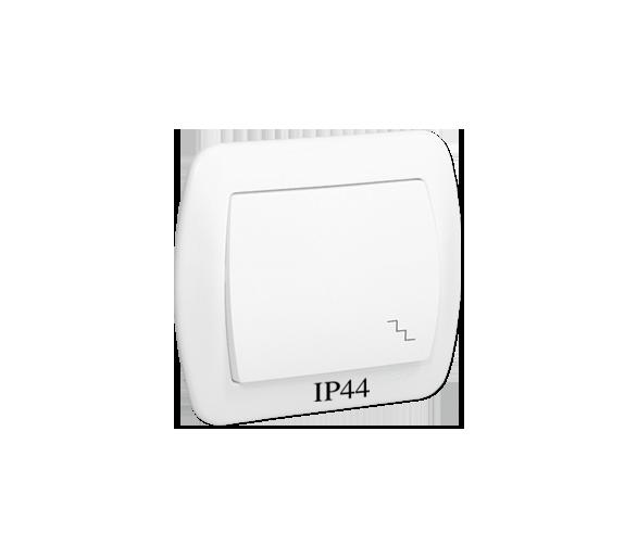 Łącznik schodowy bryzgoszczelny biały 10AX AW6B/11