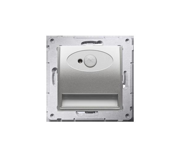 Oprawa oświetleniowa LED z czujnikiem ruchu, 230V srebrny mat, metalizowany DOSC.01/43