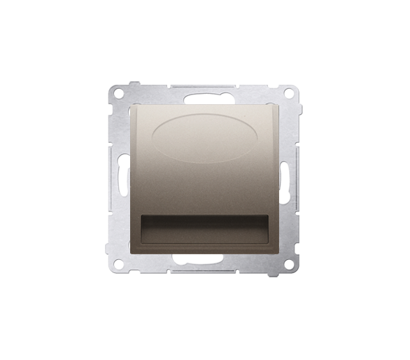 Oprawa oświetleniowa LED, 14V złoty mat, metalizowany DOS14.01/44