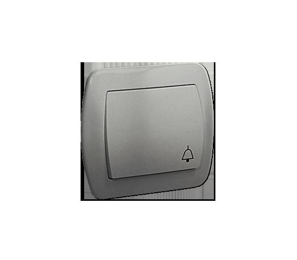 """Przycisk """"dzwonek"""" aluminiowy, metalizowany 10AX AD1/26"""