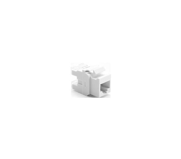 Wkład gniazda komputerowego RJ45 kat.6, nieekranowany (UTP) biały MRJ456