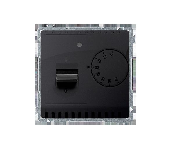 Regulator temperatury z czujnikiem zewnętrznym grafit mat, metalizowany BMRT10Z.02/28