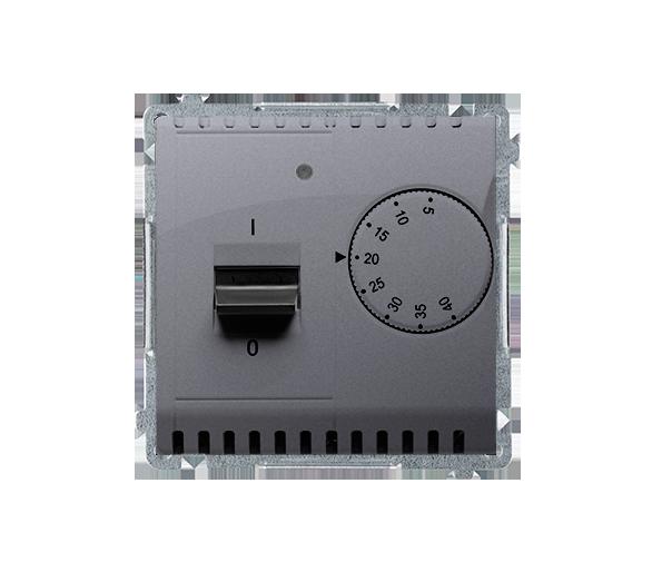 Regulator temperatury z czujnikiem zewnętrznym srebrny mat, metalizowany BMRT10Z.02/43