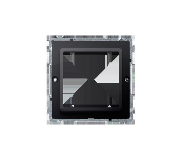 Adapter przejściówka na osprzęt standardu 45×45 mm grafit mat, metalizowany BMA45/28