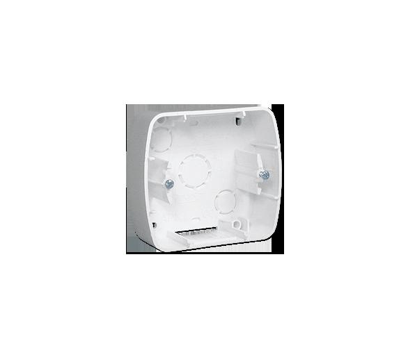 Puszka natynkowa 1-krotna biały