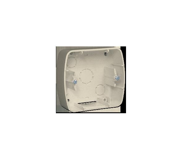 Puszka natynkowa 1-krotna beżowy